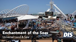 Royal Caribbean Enchantment of the Seas Overview   Universal Land & Sea