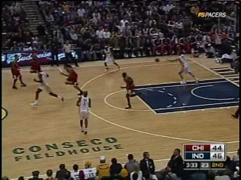 Troy Murphy's Rebounds vs. Bulls 02/22/09 Video