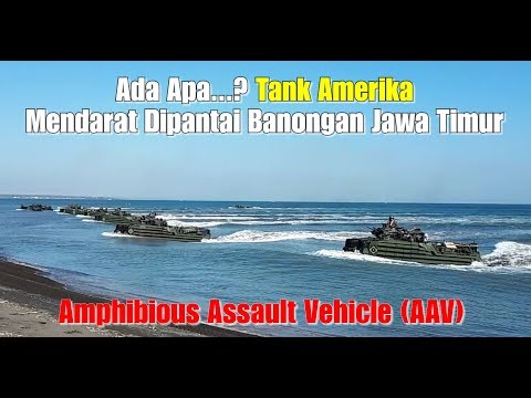 NGERI...Marinir TNI & USMC Serbu Pantai Banongan Jatim