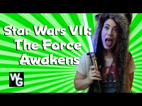 Star Wars VII: The Force Awakens Freakout