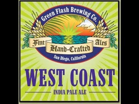 Green Flash Brewing West Coast IPA   Beer Geek Nation Beer Reviews Episode 49