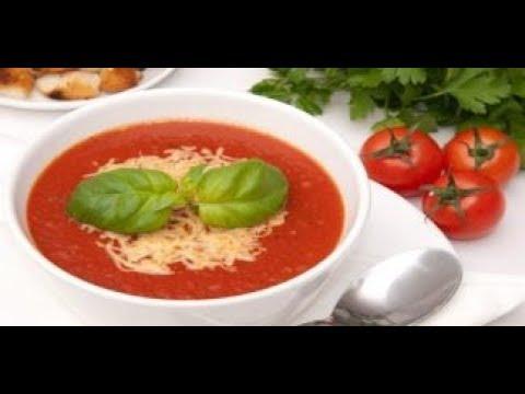 Турецкий Суп из помидор/Томатный Суп-Пюре