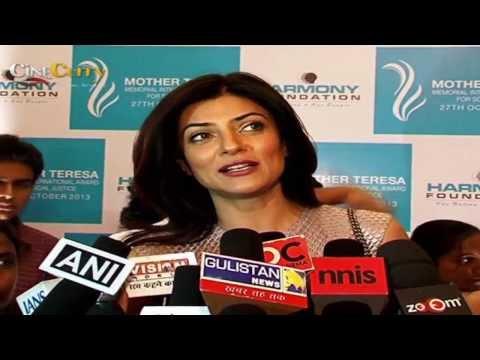 Mother Teresa Memorial International Award Sushmita Sen and Mahesh Bhatt attended