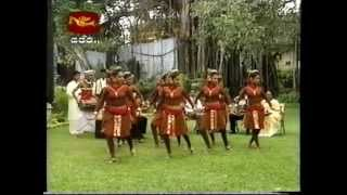 Kandyan Dance & Pahatharata Dance live performance on channel Rupavahini (Sri Lanka)