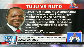 Tangatanga kumng'atua katibu mkuu Raphael Tuju kwa 'kushikana na Raila'