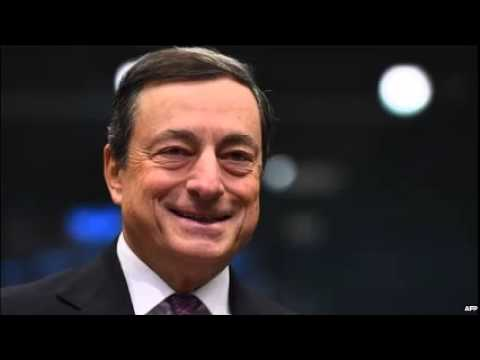 Draghi comments send euro to lowest level since 2010
