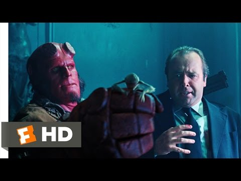 Hellboy 2: The Golden Army (1/10) Movie CLIP - Attack of the Tooth Fairies (2008) HD