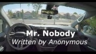Mr Nobody (Author Unknown)