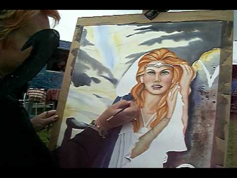 Sharon Hurst Talking Watercolour Video