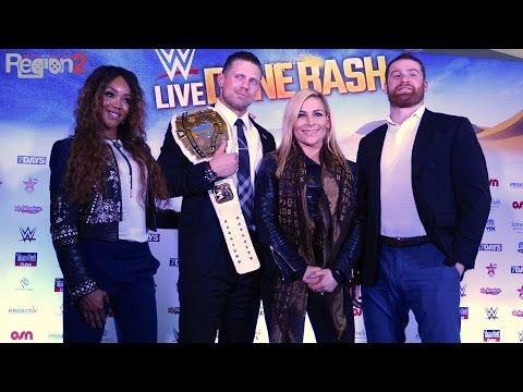 WWE Dune Bash Dubai 2016 Press Conference - مؤتمر دبليو دبليو اي الصحفي بدبي ١٦