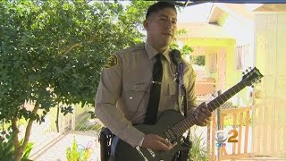Deputy Responds To Noise Complaint, Joins Jam Sesssion