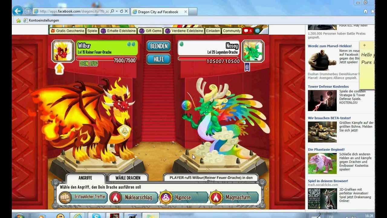 Ice Fire Dragon Dragon City Pure Fire Dragon