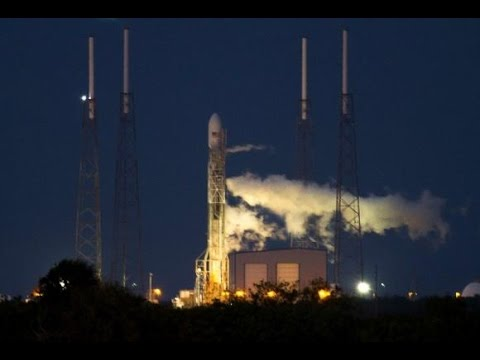 Florida WEATHER Delays SPACE X Falcon ROCKET Launch