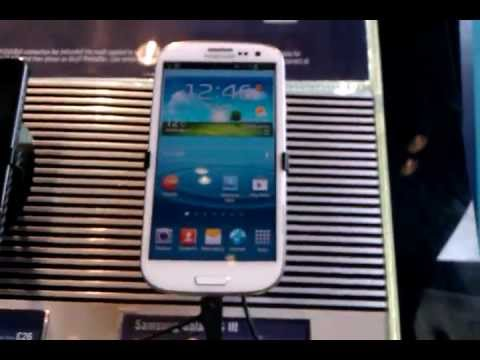 Samsung Galaxy SIII (S3) - Hands On DEMO