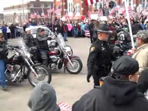 westboro baptist church meets baca and other bikers
