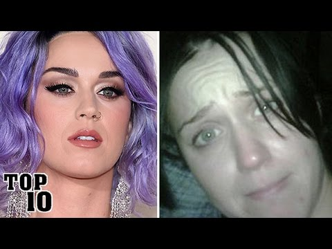 Top 10 Famous People You Won't Recognize Without Makeup