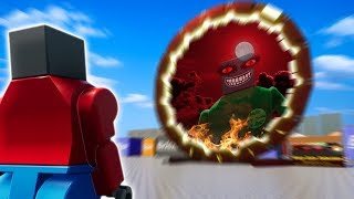 ENTERING EVIL LEGO CITY THROUGH FORBIDDEN PORTAL?! - Brick Rigs Gameplay Roleplay
