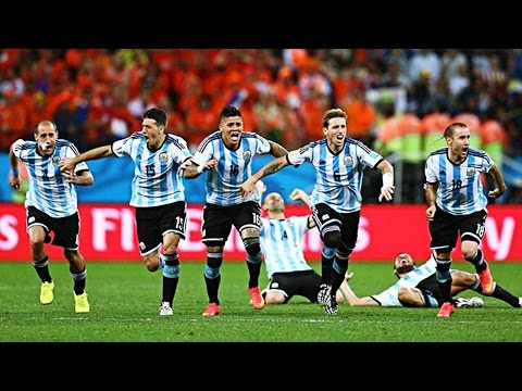 Memorable Match ► Netherlands 0 (2) vs (4) 0 Argentina - 9 Jul 2014 | English Commentary
