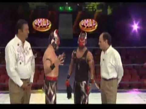 VOLADOR JR VS MISTICO ANTES DEL MANO A MANO (parte1)