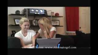 Alison Angel & Lia19 2 girls 1 cup reaction