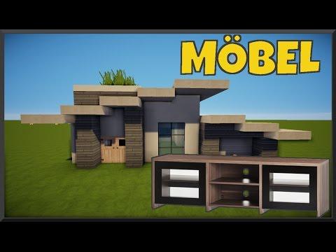 TÜR Minecraft Haus MÖBEL EINRICHTEN German - Minecraft hauser einrichten deutsch