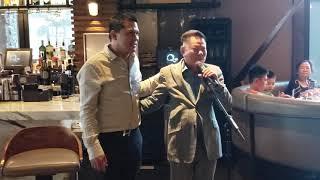 Tiệc chia tay với nghệ sĩ tại Q Sushi của Hoàng Kiều