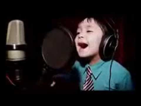 melodious voice children 4 and a half years /1  suara anak 4th JJ