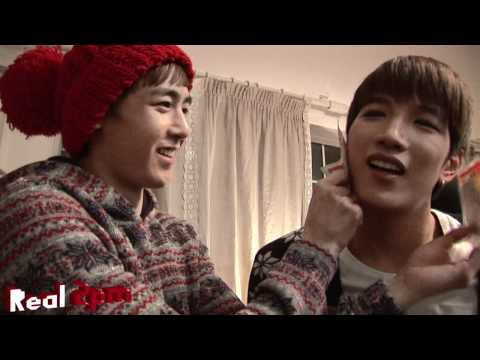 [Real 2PM] JYP Nation 뮤직비디오 촬영이야기1^^(2PM M/V behind the scenes)