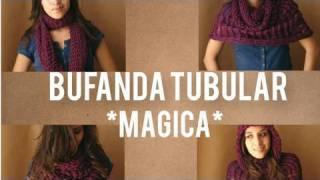 Cooking | Como hacer bufanda Magica, tubular, multiusos en telar circular | Como hacer bufanda Magica, tubular, multiusos en telar circular