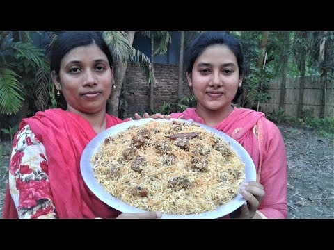 Traditional Mutton Biryani Recipe | World Famous Mutton Biryani Cooking By Street Village Food