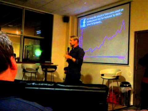Andy Parfitt - Radio Academy talk at BBC Bristol Club by controller of Radio 1