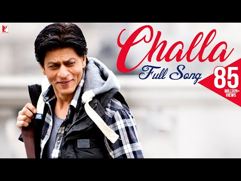Challa - Full Song - Jab Tak Hai Jaan - Shahrukh Khan video
