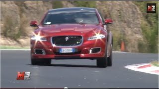 JAGUAR XJR 2014 - SUPERCHARGED TRACK AND SOUND