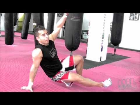 The Leslie's - Body Weight Drill - Kickboxing Heavy Bag Workouts with Michael Andreula Image 1