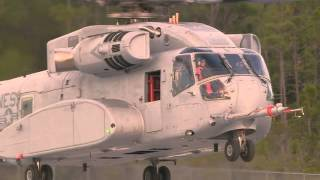 Sikorsky Aircraft CH-53K King Stallion First Flight Video