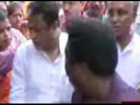 Mukul Roy faces protest