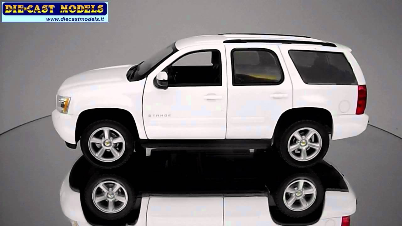 Welly chevrolet tahoe white hd logo youtube