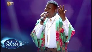 Top 5 Reveal: King B – 'Irreplaceable' – Idols SA | Mzansi Magic