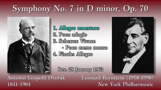 Dvořák: Symphony No. 7, Bernstein & NYP (1963) ドヴォルザーク 交響曲第7番 バーンスタイン