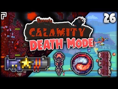 Star Cannon = ABSOLUTELY RIDICULOUS! | Terraria Calamity Mod Death Mode Let's Play [Episode 26]