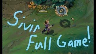 League Of Legends - Sivir ( Skin - Victorius Sivir) - FG - WP Early Kills!