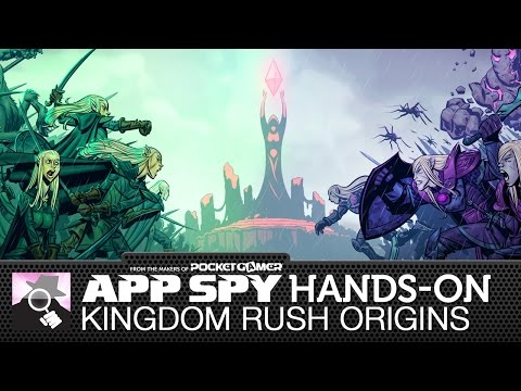 Kingdom Rush: Origins   iOS iPhone / iPad Hands-On - AppSpy.com