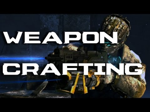 Dead Space 3 - Weapon Crafting Explained! Walkthrough & Breakdown (XBOX 360/PS3/PC)