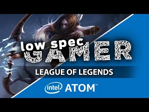 Super low League of Legends mod on Intel Atom / IntelHD computer (GPD Pocket)