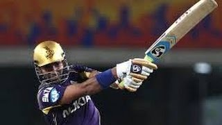 IPL 7, Live Cricket Score, KKR vs KXIP: Robin Uthappa  Early Exit