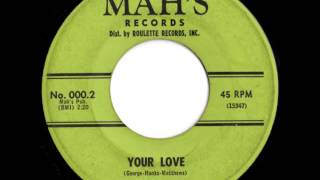 Billy Kent And The Andantes - Your Love