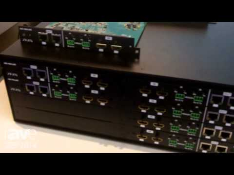ISE 2014: Zigen Coporation Showcases 16×16 Modular Matrix Switcher