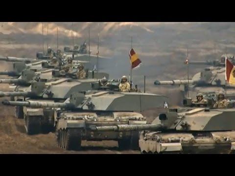 Hundreds of British Troops in NATO Training Exercise - ITV News