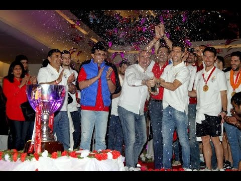 Kolkata welcomes the 1st Champions of the ISL - Atlético de Kolkata