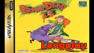 Brain Dead 13 100% Sega Saturn (Longplay) [HD]